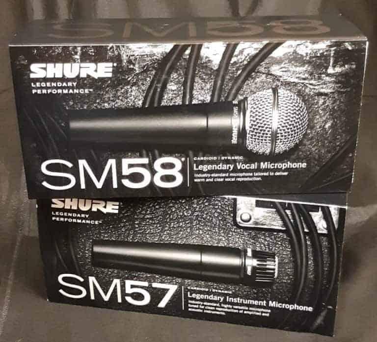 Shure mics 2