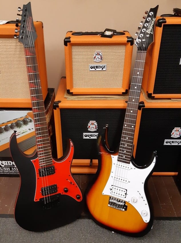 rock ibanez guitars