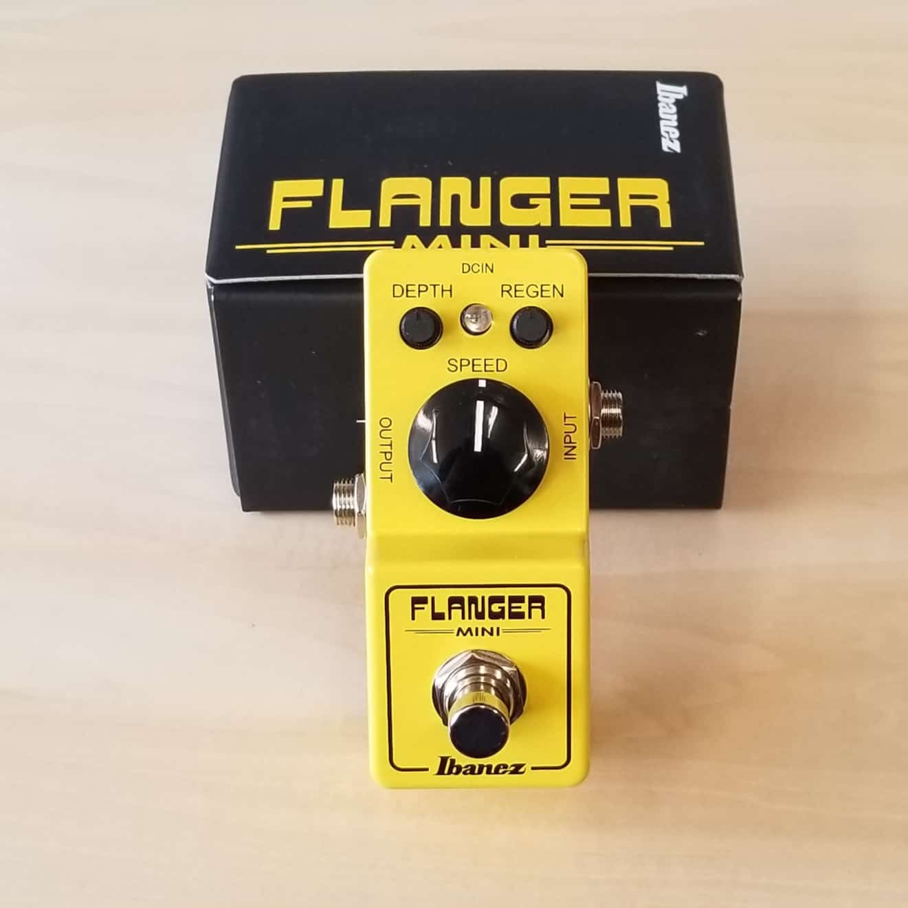 Ibanez Mini Flanger Effects pedal