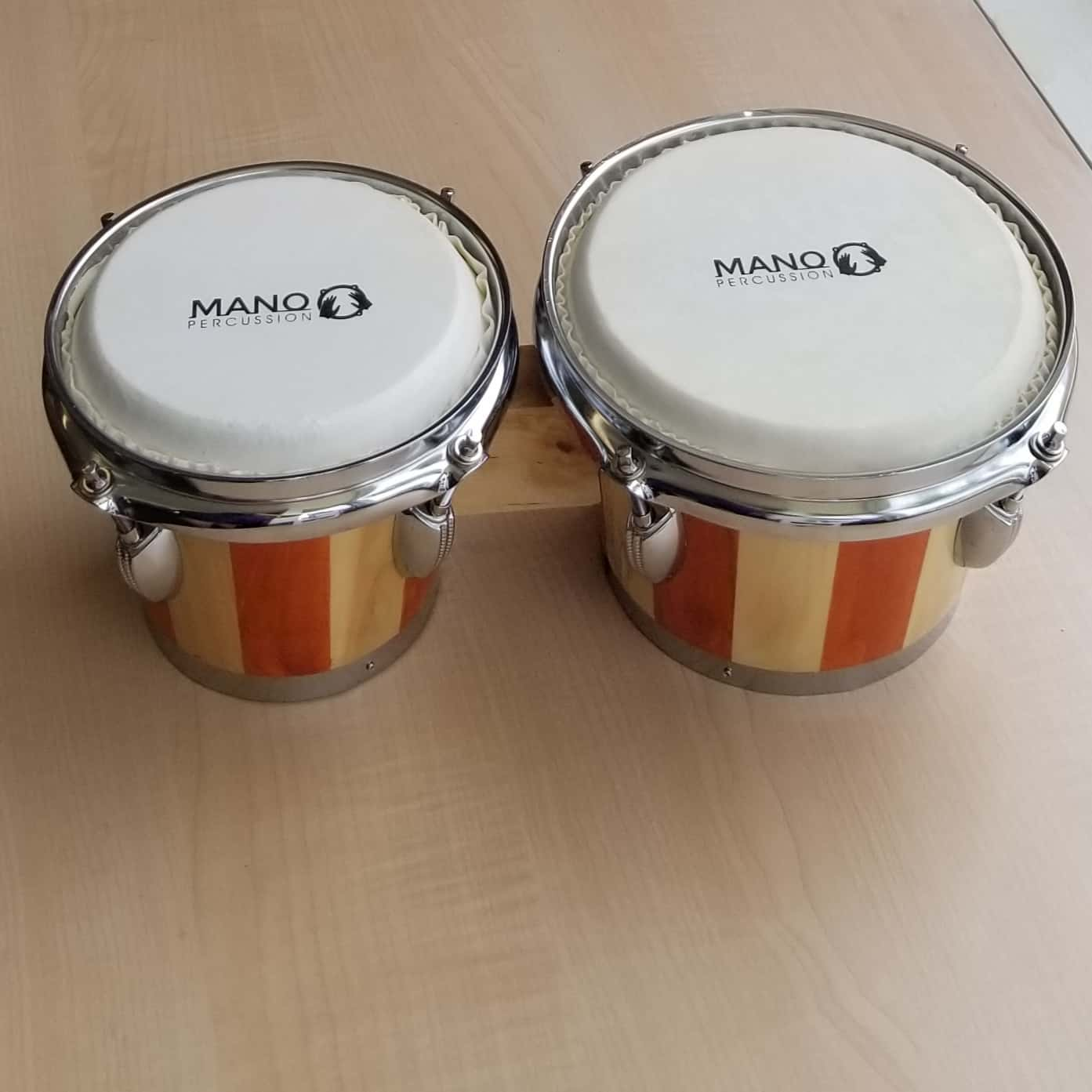 Mano Percussion Bongos Natural