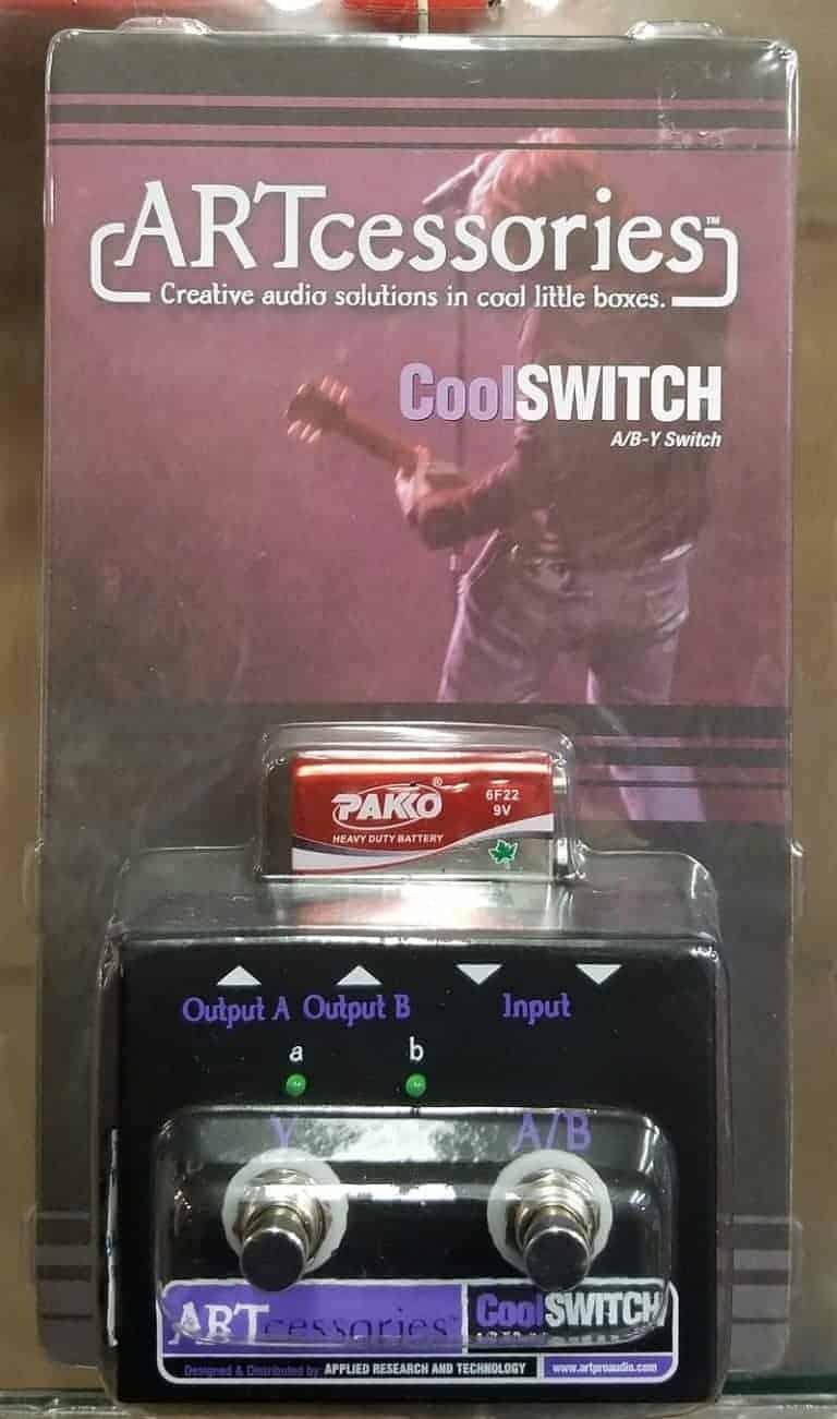 ART guitar switch