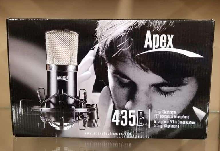 Apex 435B condenser microphone