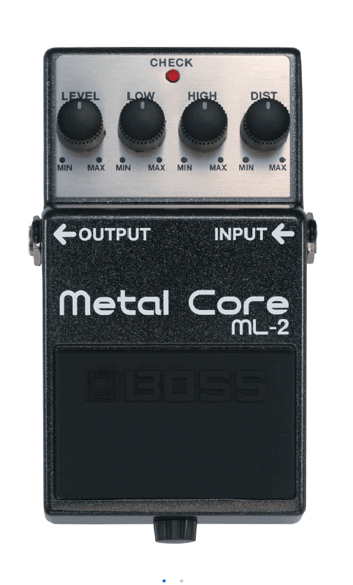 BOSS Metal Core pedal