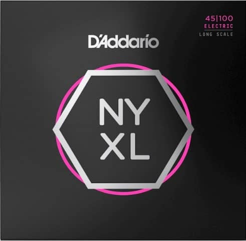 D'Addario NYXL bass guitar strings