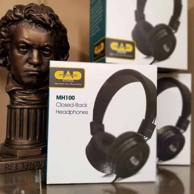 CAD MH100 headphones