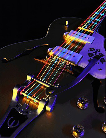 DR Neon multi electric guitar strings