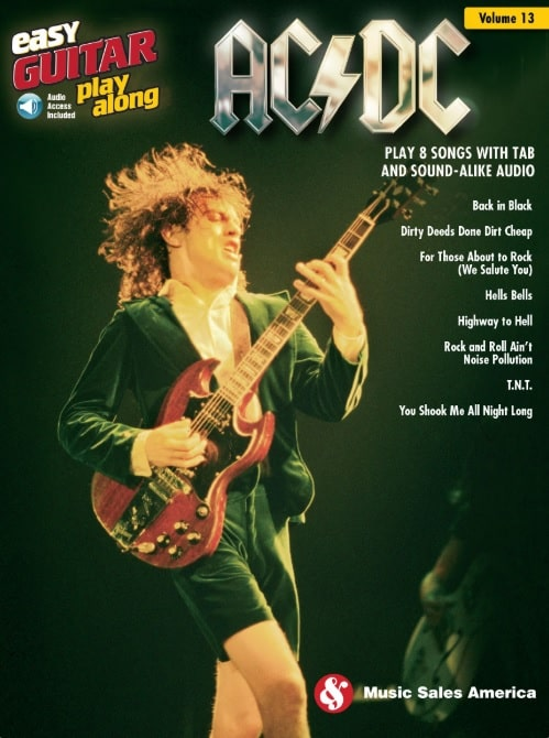 Easy Guitar Play Along ACDC