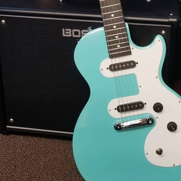 Epiphone Les Paul SL Turquoise electric guitar