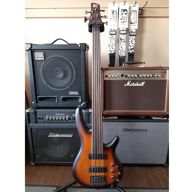 Ibanez SRF705 fretless bass