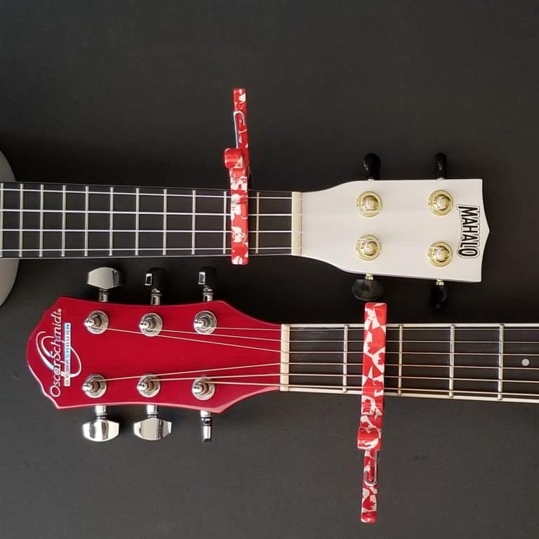 Kyser capos for guitar and ukulele
