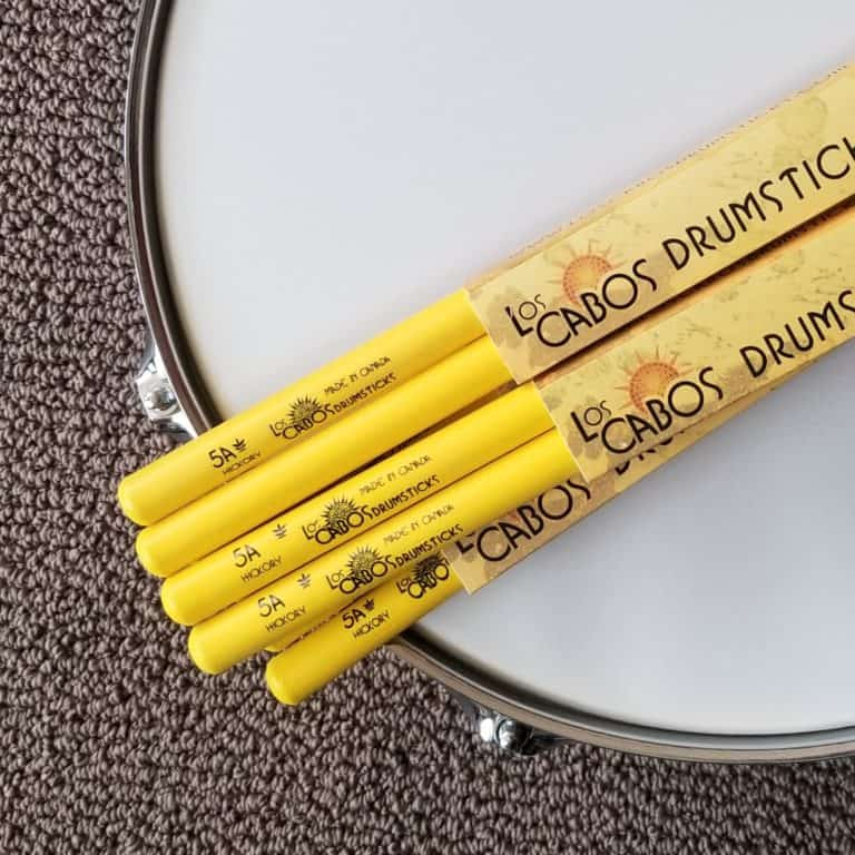 Los Cabos yellow jackets 5A hickory drumsticks