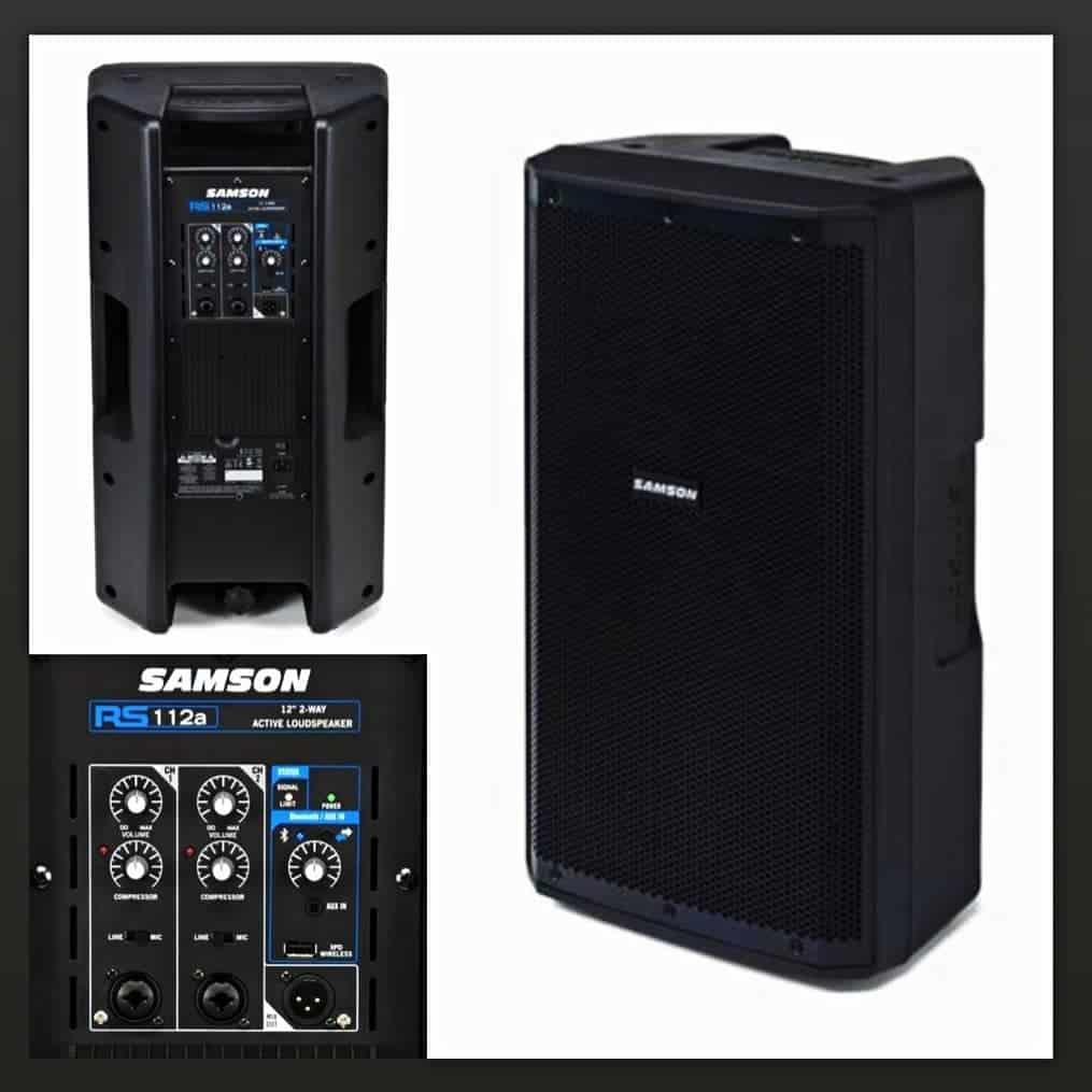 Samson RS112a speaker