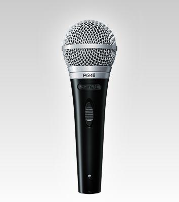 Shure mic PG48