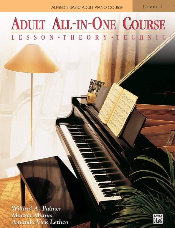 Songbooks Alfred Adult All in One Course Lev 1