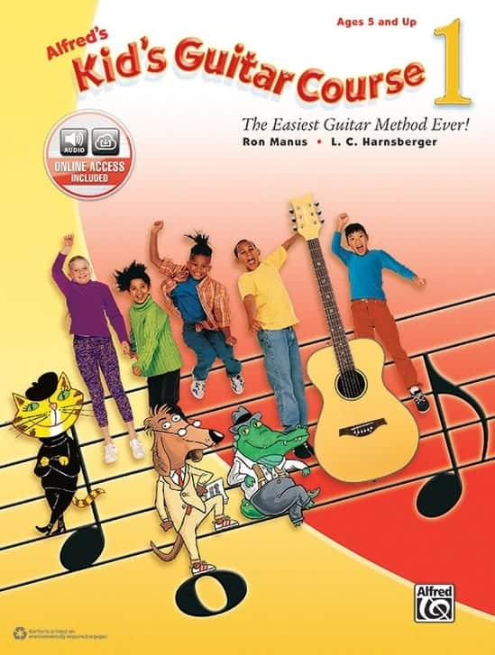 Songbooks Alfred Kid Guitar Course