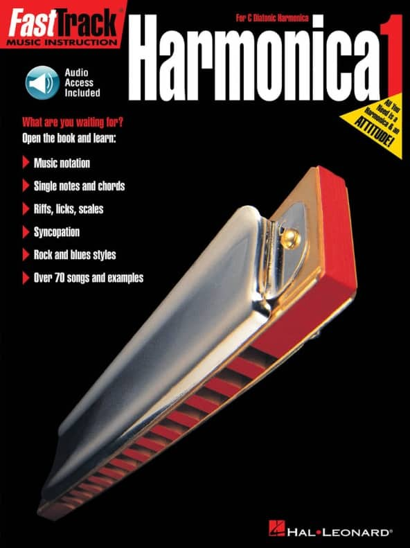 Songbooks HL Fast Track Harmonica 1