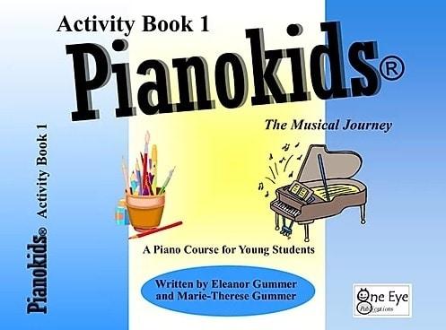 Songbooks Pianokids Activity 1