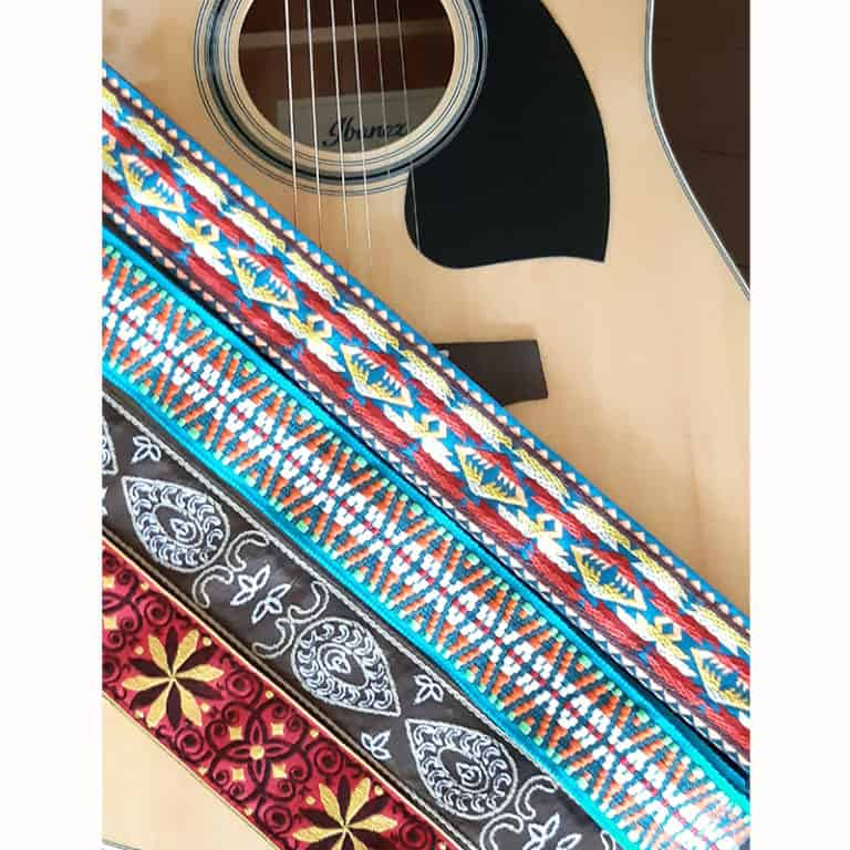 Levys nylon and poly straps for acoustic guitar