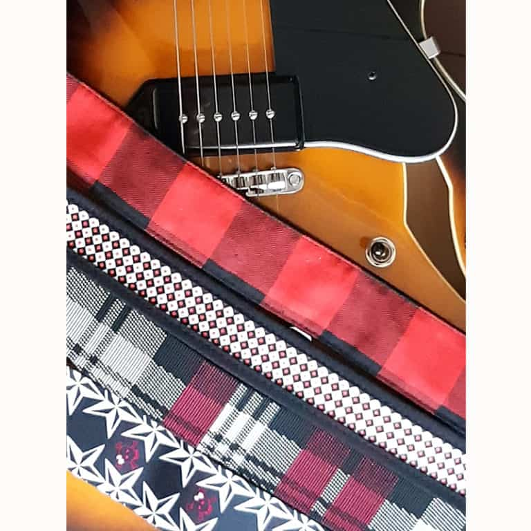 D'Addario and Levy's straps for electric guitars