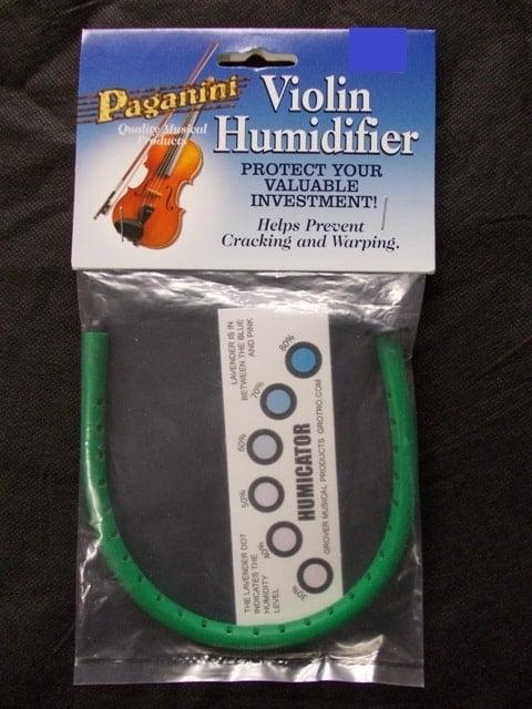 Violin humidifier