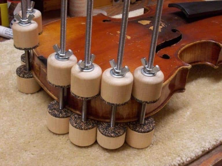 seam repairs - violin