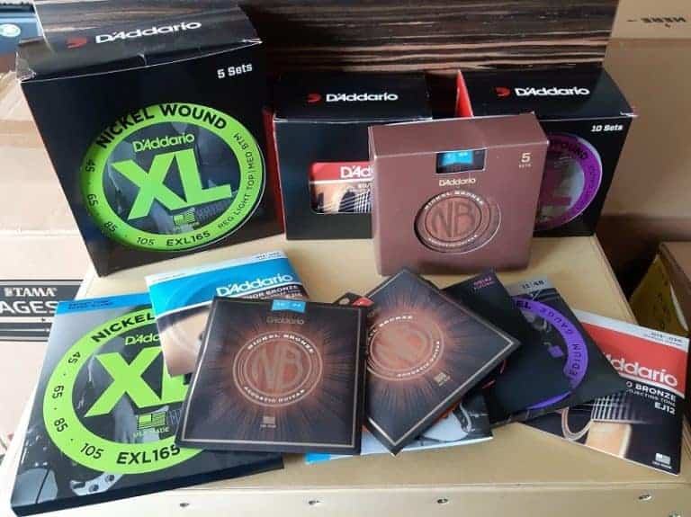 D'Addario string collection homepage 800