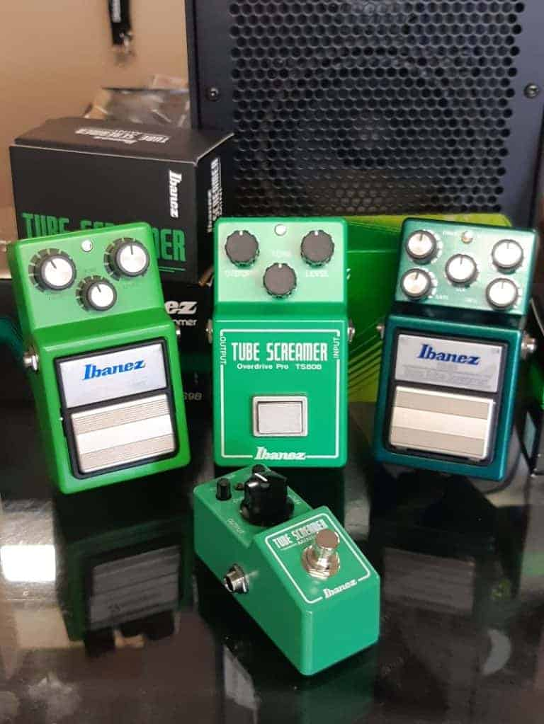 Ibanez Tube Screamer Effects pedals