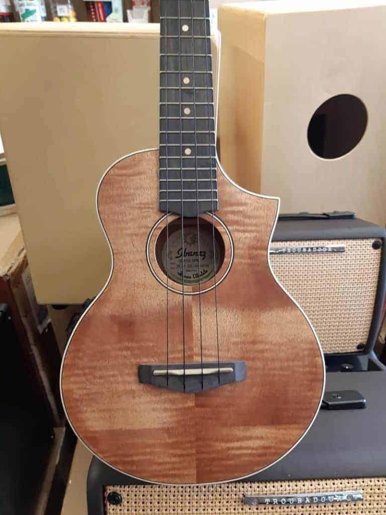 Ibanez UEW15E-OPN acoustic-electric Ukulele