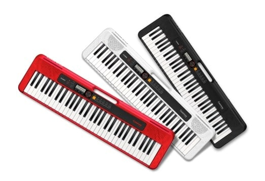 Casio CTS200 red, white, black