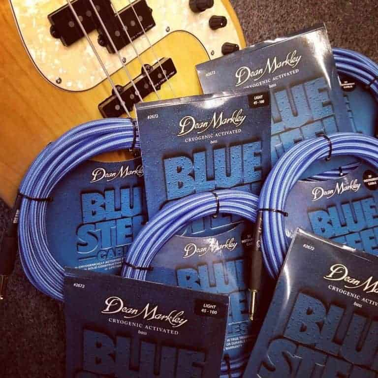 Dean Markley Blue Steel Instrument Cables