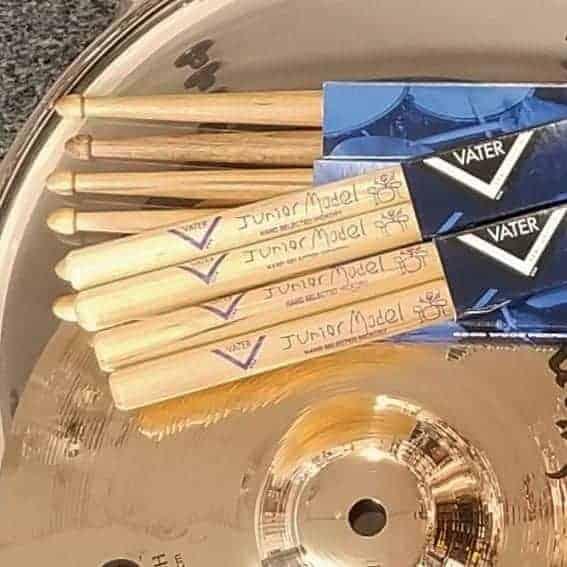 Vater Junior Model Drumsticks for kids