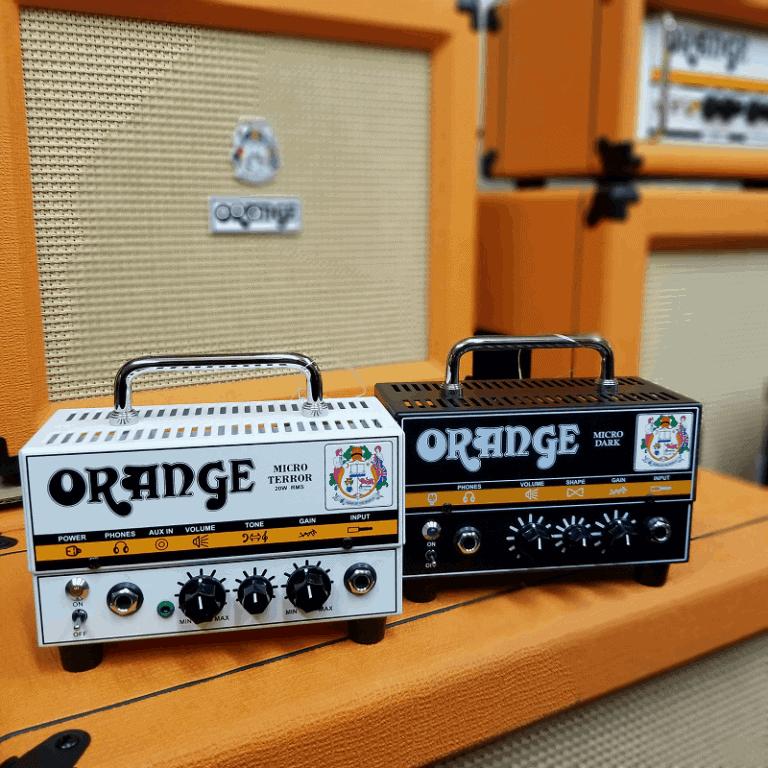 Orange Micro Terror and Micro Dark mini amps