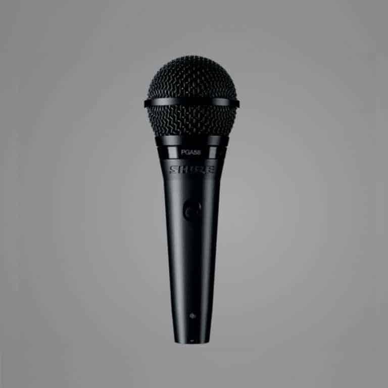 Shure PGA58 Cardioid Dynamic Vocal Mic