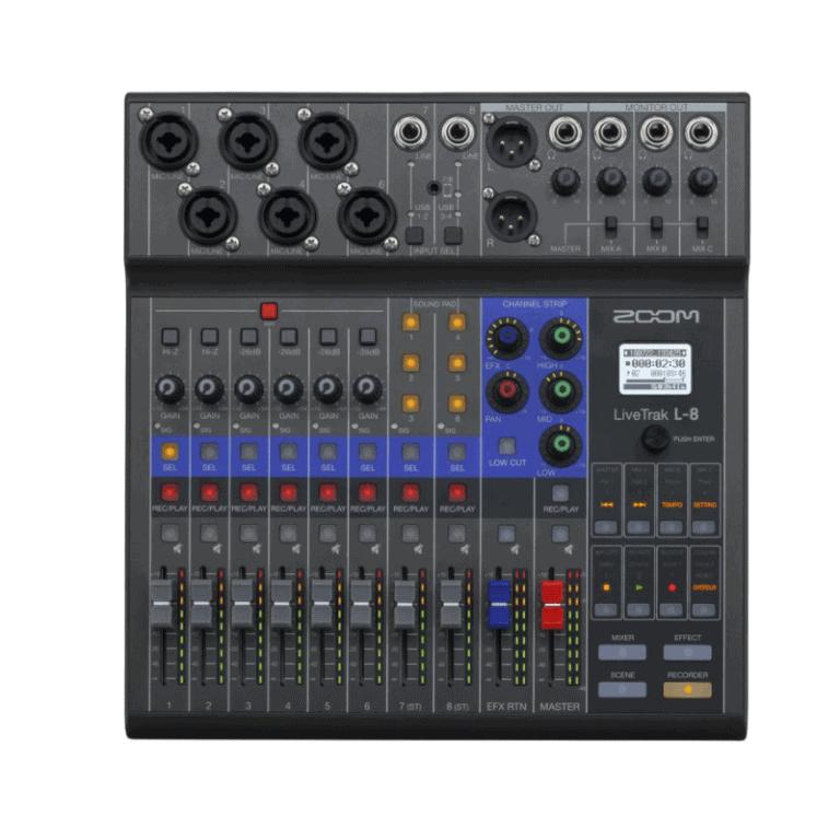Zoom LiveTrak L-8 Mixer and Recorder