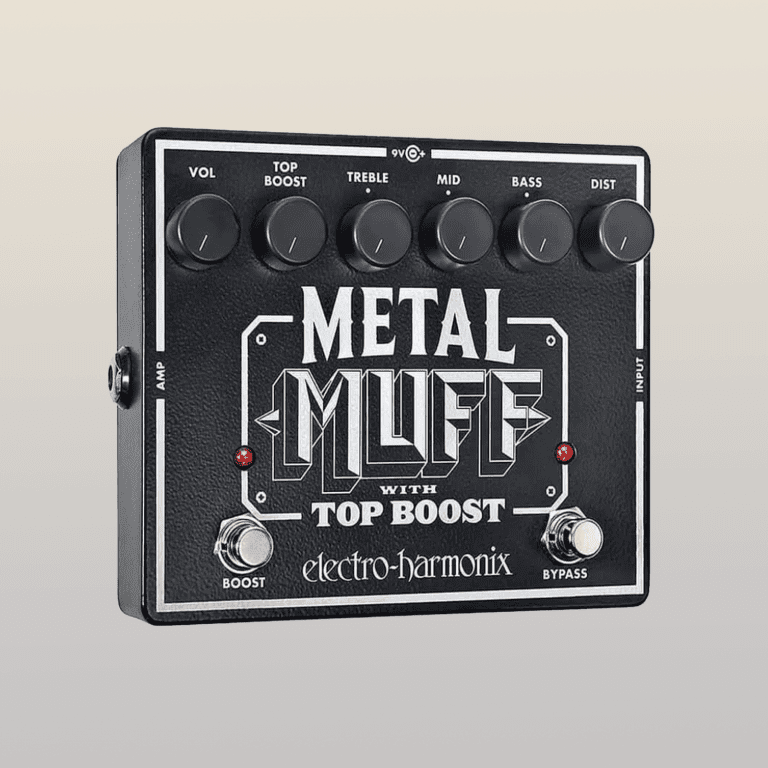 EHX Metal Muff efffects pedal w Top Boost