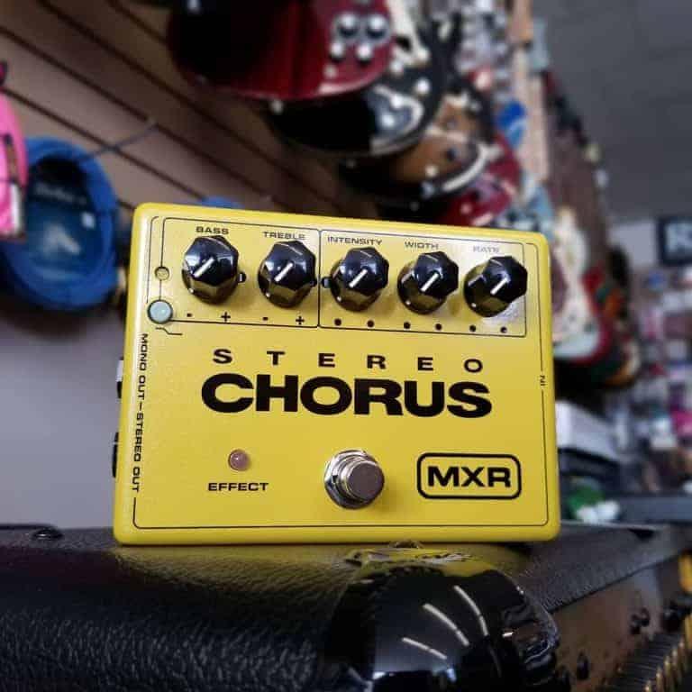 MXR Stereo Chorus effects pedal