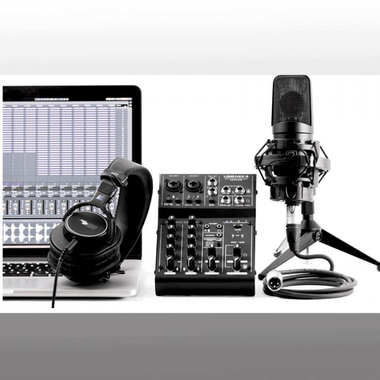 ART Recording setup with USBMix4