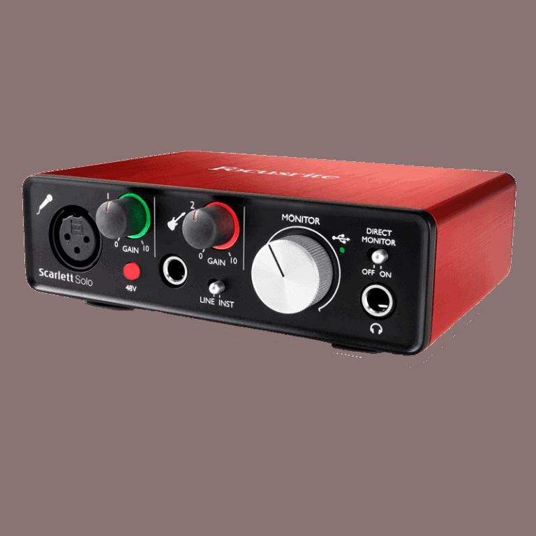 Focusrite ScarlettSolo 2nd Gen USB Audio Interface