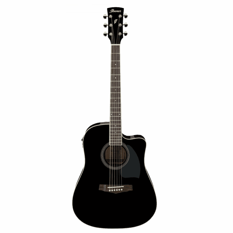 Ibanez PF15ECE Acoustic Electric Black
