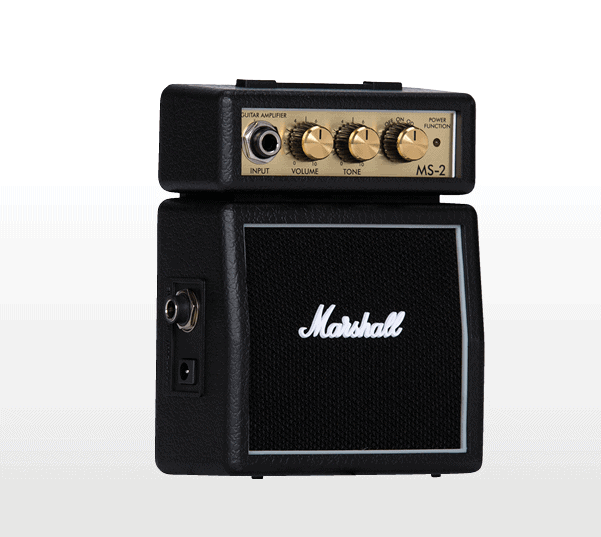 Marshall MS-2 micro amp black