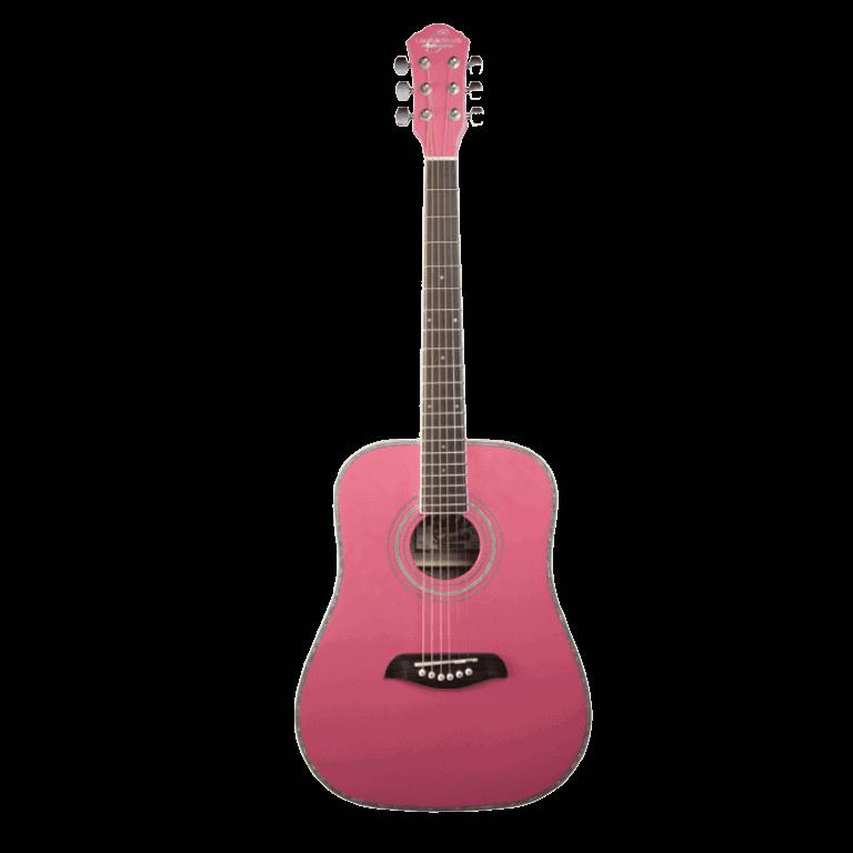 Oscar Schmidt OG1 P Pink acoustic