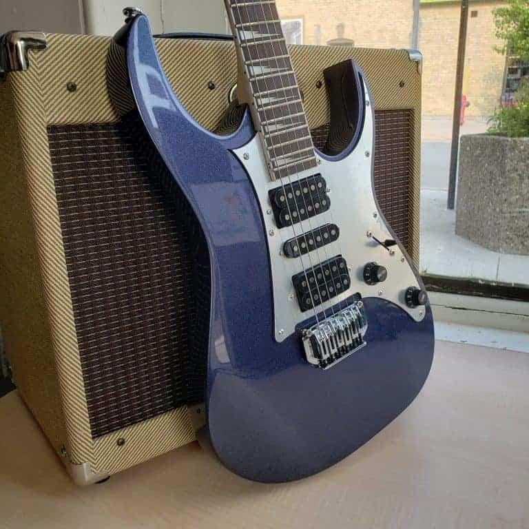 Ibanez GRG150DX Navy Metallic Electric Guitar