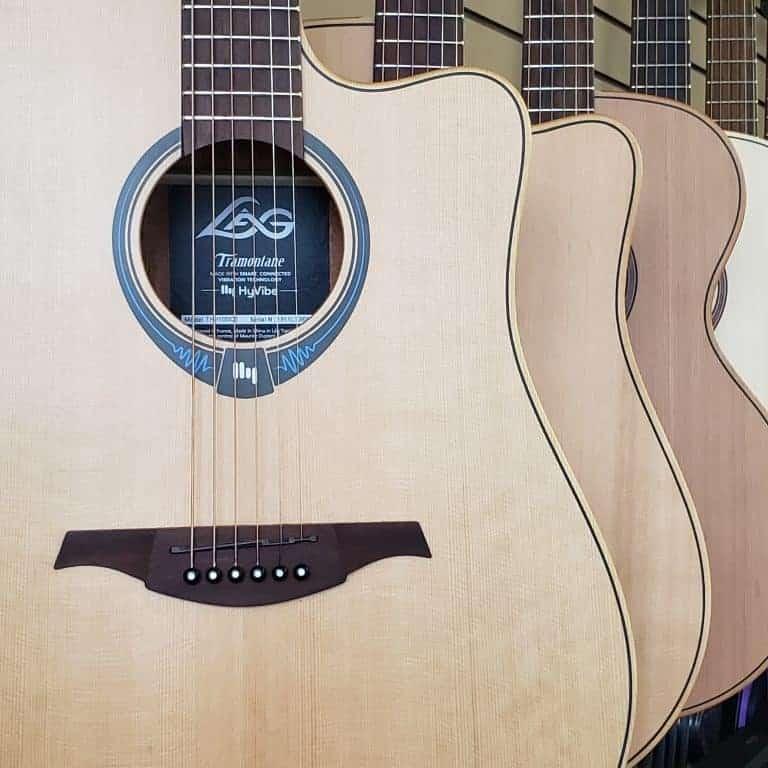 LAG HyVibe Acoustic guitar
