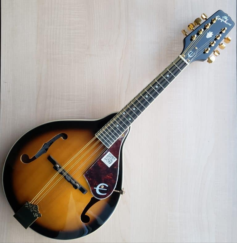 Epiphone Mandolin MM-30S A Style in Antique Sunburst
